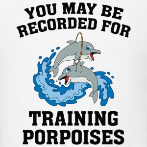 Training Porpoises - Men's T-Shirt