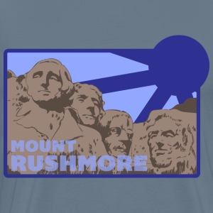 Mount Rushmore light blue t shirt - Men's Premium T-Shirt
