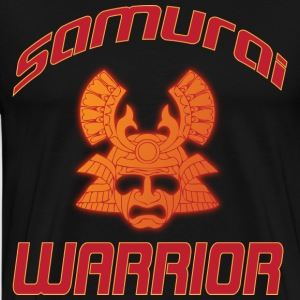 samurai warrior black t shirt - Men's Premium T-Shirt