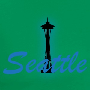 Seattle light blue t shirt 2 - Men's Premium T-Shirt