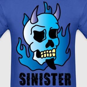 Sinister blue t shirt - Men's T-Shirt