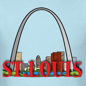 St. Louis light blue t shirt - Men's T-Shirt