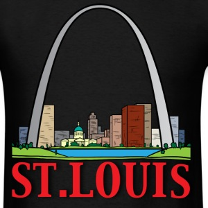 st. louis black t shirt - Men's T-Shirt