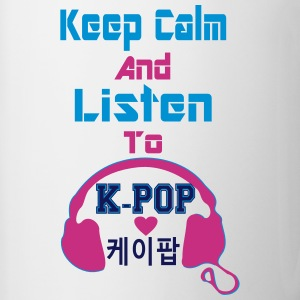 ♥♫Keep Calm&Listen to KPop Coffee/Tea Mug♪ - Contrast Coffee Mug