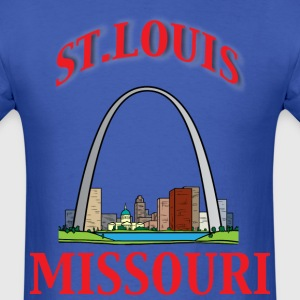 St. Louis blue t shirt - Men's T-Shirt