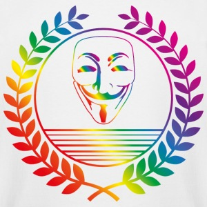 anonymus rainbow T-Shirts - Men's Tall T-Shirt