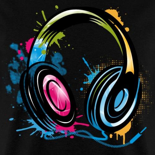 stylish Graffiti Headphones