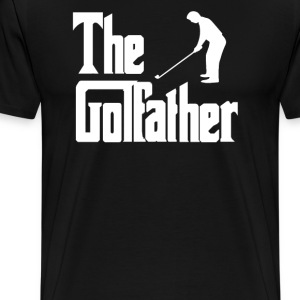the golfather.png T-Shirts - Men's Premium T-Shirt