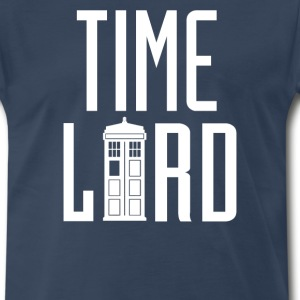 Time Lord - Dr. Who T-Shirts - Men's Premium T-Shirt
