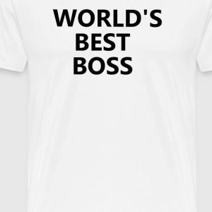 World's Best Boss - The Office T-Shirts - Men's Premium T-Shirt