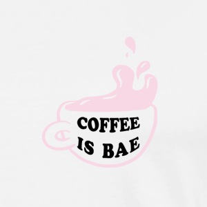 Coffee is BAE - Men's Premium T-Shirt
