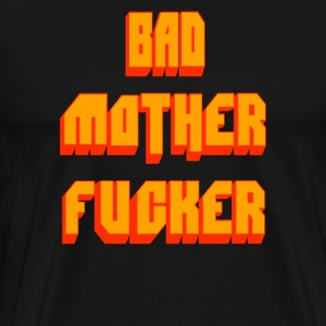 Pulp Fiction - Bad Mother Fucker T-Shirts - Men's Premium T-Shirt