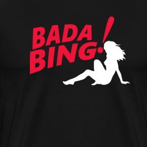 The Sopranos Bada Bing T-Shirts - Men's Premium T-Shirt
