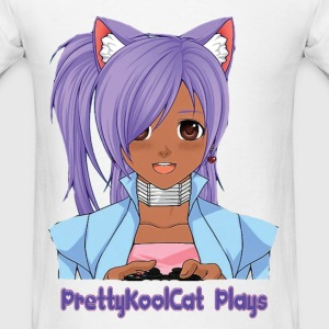 PrettyKoolCat Youtube Logo T-Shirts - Men's T-Shirt