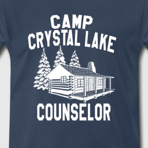 Camp Crystal Lake Counselor - Friday The 13th    T-Shirts - Men's Premium T-Shirt