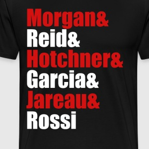 Criminal Minds Cast T-Shirts - Men's Premium T-Shirt