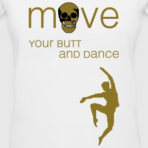 move your butt and dance (jazz) T-Shirts - Women's V-Neck T-Shirt
