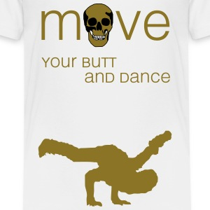 move your butt and dance (hip-hop) Kids' Shirts - Kids' Premium T-Shirt