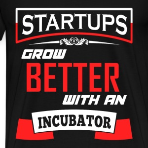 How startups grow - Men's Premium T-Shirt