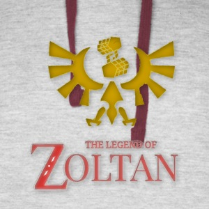 The Legend Of Zoltan Colorblock hoodie - Colorblock Hoodie