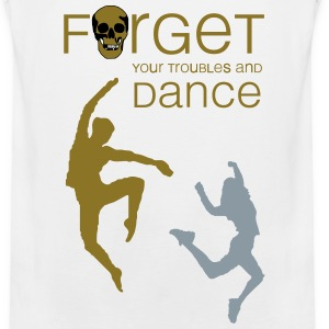 forget your troubles and dance (woman) Sportswear - Men's Premium Tank
