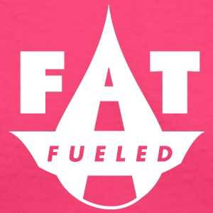 Fat Fueled T-Shirts - Women's V-Neck T-Shirt
