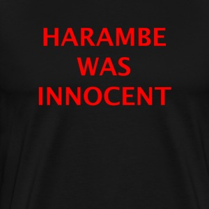 Harambe was innocent - Men's Premium T-Shirt