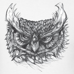 Owl Illustration T-Shirt - Men's T-Shirt