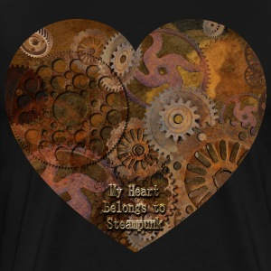 My Steampunk Heart - Men's Premium T-Shirt