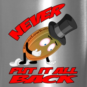 THE NEVER PUT IT ALL BACK PENNY Mugs & Drinkware - Travel Mug