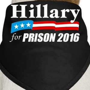 Hillary For Prison - Limited Edition  - Dog Bandana