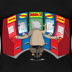 THE GAMBLIN' GRANNY T-Shirts - Women's Premium T-Shirt