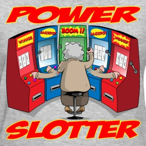 THE POWER SLOTTER WITH TEXT T-Shirts - Women's T-Shirt