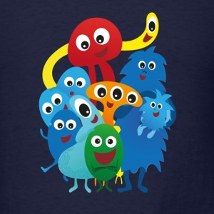Monster family - Men's T-Shirt