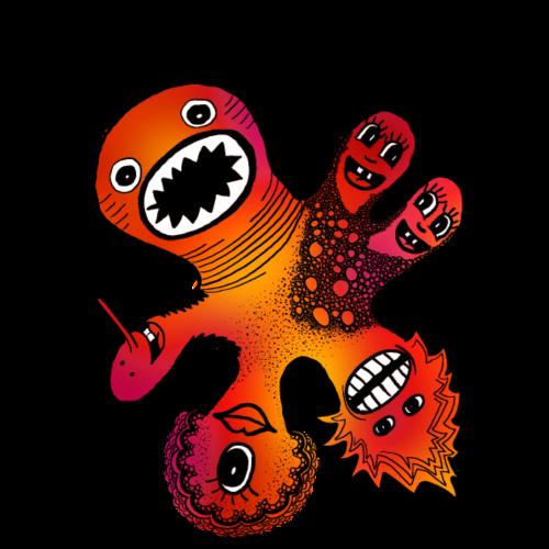 Six Headed Monster