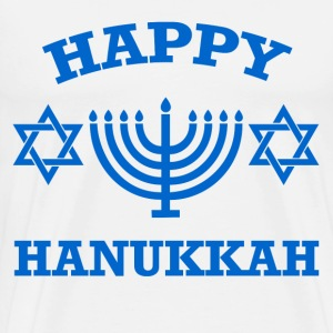 hanukkah,happy hanukkah,happy - Men's Premium T-Shirt