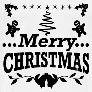 MERRY1.png T-Shirts - Men's Premium T-Shirt