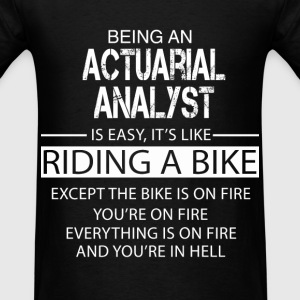 Actuarial Analyst T-Shirts - Men's T-Shirt