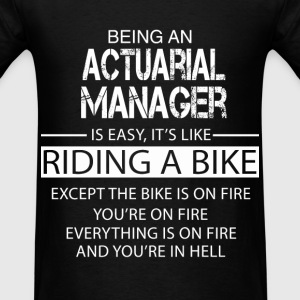 Actuarial Manager T-Shirts - Men's T-Shirt