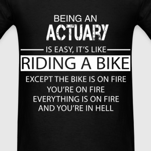 Actuary T-Shirts - Men's T-Shirt