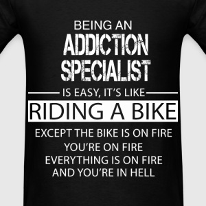Addiction Specialist T-Shirts - Men's T-Shirt