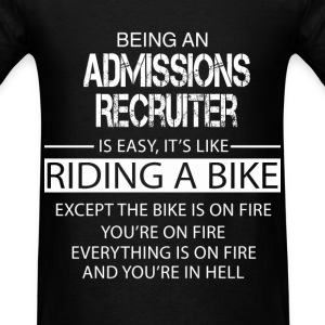 Admissions Recruiter T-Shirts - Men's T-Shirt