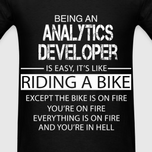 Analytics Developer T-Shirts - Men's T-Shirt