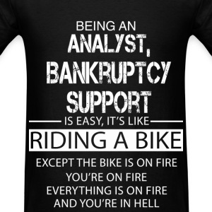 Analyst, Bankruptcy Support T-Shirts - Men's T-Shirt