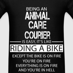 Animal Care Courier T-Shirts - Men's T-Shirt