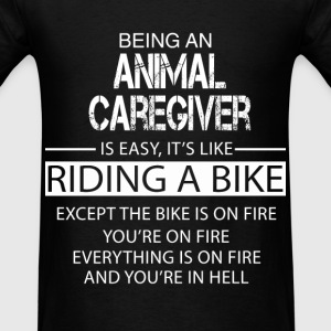 Animal Caregiver T-Shirts - Men's T-Shirt