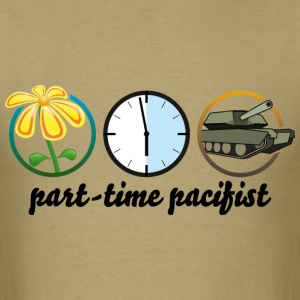 part time pacifist T-Shirts - Men's T-Shirt