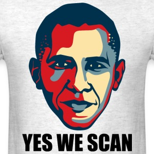 yes we scan T-Shirts - Men's T-Shirt