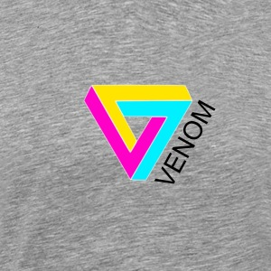 Venom Shirt - grey - Men's Premium T-Shirt
