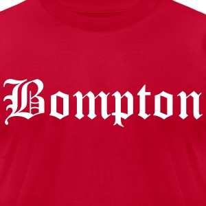 Compton shirt - Men's T-Shirt by American Apparel